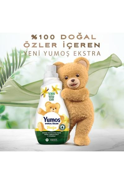 Yumoş Extra Doğal Özler Pamuk Çiçeği & Vanilya 1200 ml 50 Yıkama