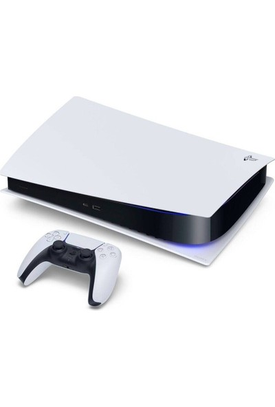 Sony PS5 Playstation Dijital Sürüm Oyun Konsolu + 2. Kol ( İthalatçı Garantili )