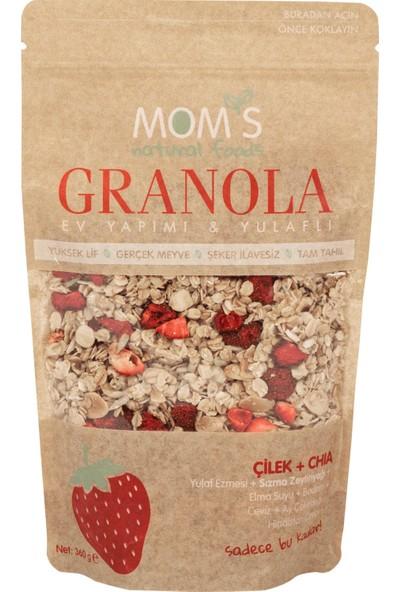 Mom's Natural Foods Granola Çilek Chia 360 gr