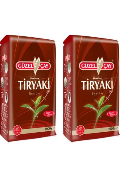 Güzel Çay Tiryaki 1000g Fırsat (x2 adet)
