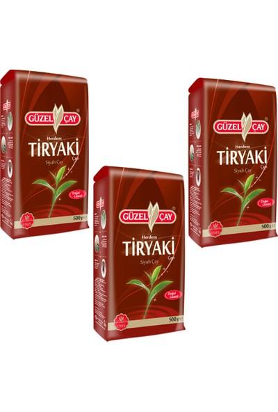 Güzel Çay Tiryaki 500g Fırsat (x3 Adet)
