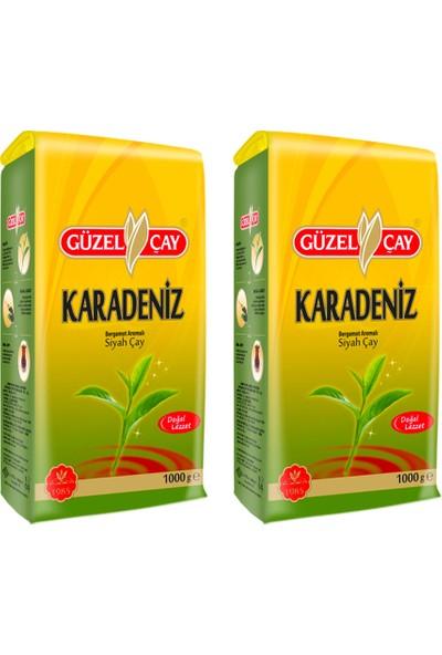 Güzelçay Güzel Çay Karadeniz 1000g Fırsat (x2 adet)