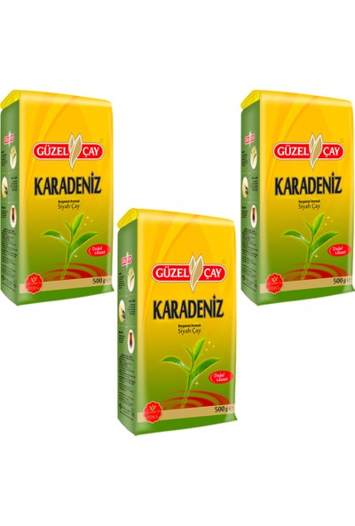 Güzel Çay Rize 500g Fırsat (x3 adet)