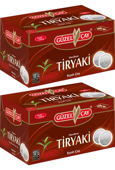 Güzel Çay Herdem Tiryaki Çayı 100'lü Fırsat (x2 adet)
