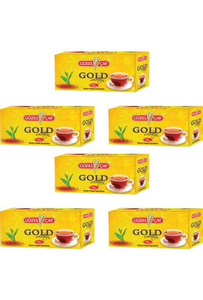 Güzel Çay Gold Selectıon 25 li Fırsat (x6 adet)