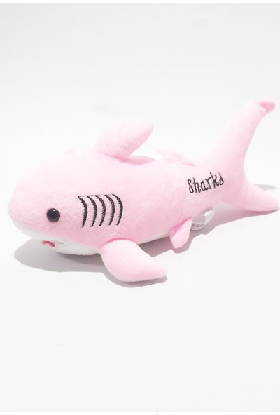 Adabebek Baby Shark Şarkı Söyleyen Peluş Oyuncak Köpekbalığı 30 cm