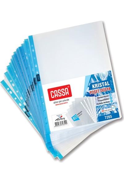 Cassa Kristal Poşet Dosya 80 Mikron