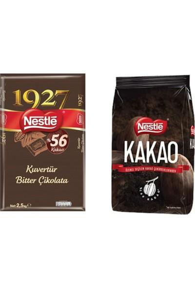Nestle 1927 Bitter Kuvertür 2,5 kg + Nestle Kakao 1 kg