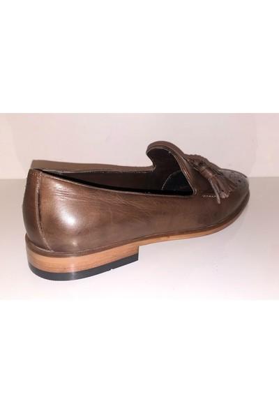 Smash 6018 Erkek Hakiki Deri Smart Casual Günlük Klasik Ayakkabı