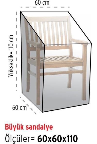 HOMAKS Sandalye Koruma Örtüsü (60x60)