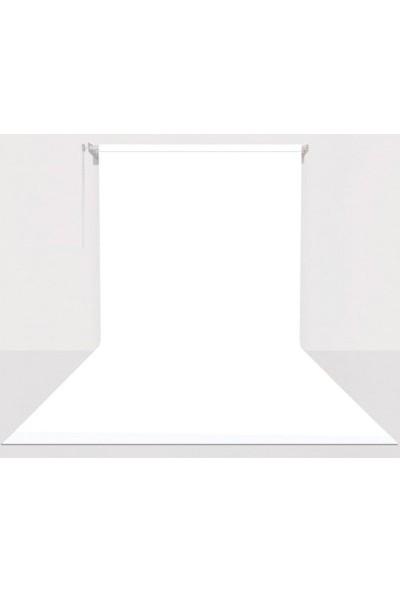 Fotexon Kumaş Üzerine Boyama Yeşil Gri Beyaz Fon Seti 270 x 580 cm