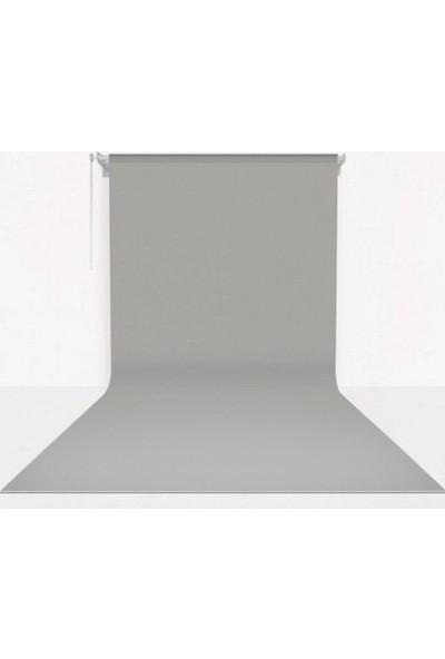Fotexon Kumaş Üzerine Boyama Gri Fon Seti 270 x 580 cm