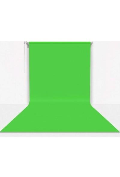 Fotexon Kumaş Üzerine Boyama Yeşil Fon Seti 270 x 580 cm