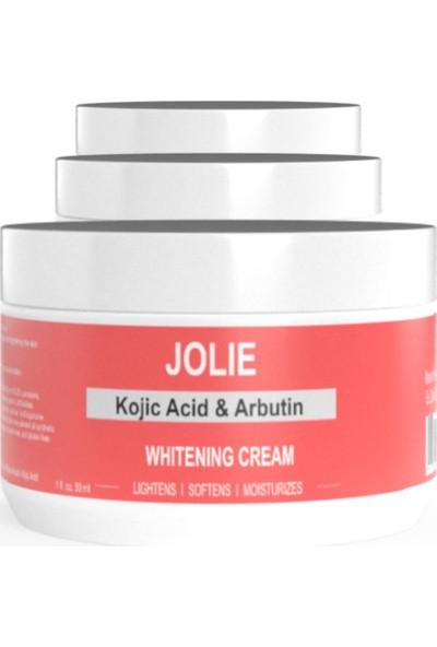 Jolie Beyazlatıcı Krem Kojik Asit & Arbutin ile Formülize Edilmiş Leke Giderici Jolie Krem