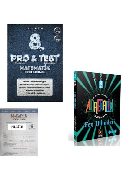 Altın Harman Yayınları 8. Sınıf Bilfen Protest Matematik / En Adrenalin Fen Bilimleri Soru Bankası