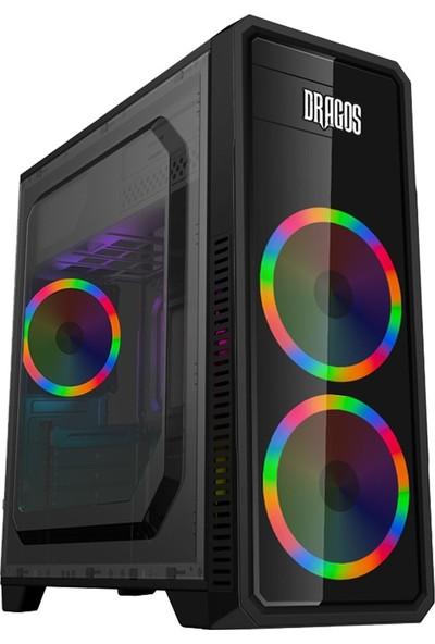 """Turbox ATM900057 i5 Turbo 3.46GHz 8GB Ram 1TB Hdd 4GB EK. 21.5"""" Mon. Oyun Bilgisayarı"""