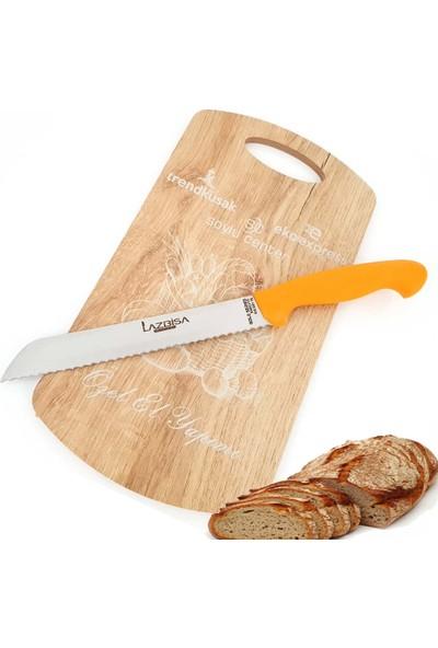 Eko Express Mutfak Ekmek Bıçağı Tırtıklı Ekmek Fırın Pide Bıçağı