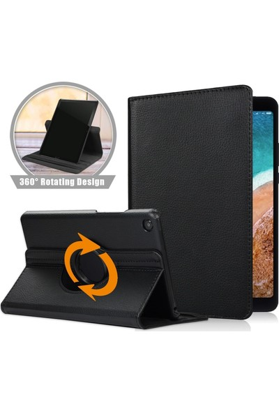 "Essleena Samsung Galaxy Tab A7 10.4"" T500 (2020) Dönebilen Standlı Kılıf Siyah"