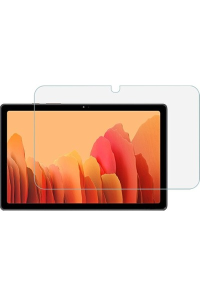"Tns Teknoplus Samsung Galaxy Tab A7 2020 SM-T500 10.4"" Kırılmaz Nano Cam Ekran Koruyucu"