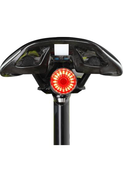 West Biking Bisiklet El Feneri Bisiklet Arka Işık Otomatik Fren