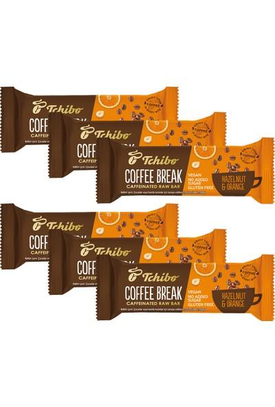 Tchibo Coffee Break - Fındıklı & Portakallı Kahveli Bar 40 G x 6