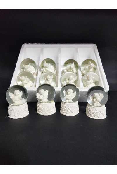 Bbc Mini Cam Kar Küresi Içinde Melek-Melek Küre