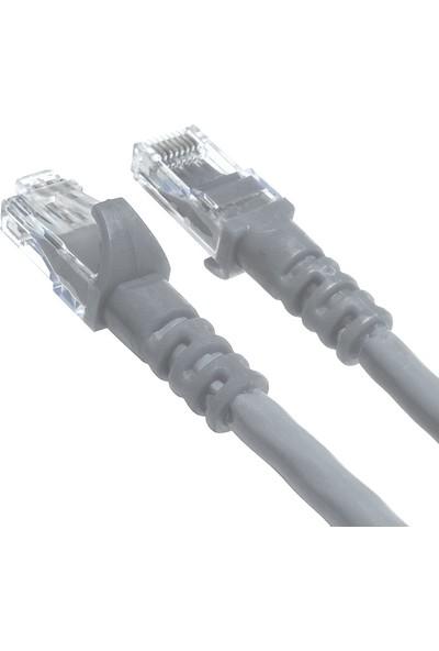 Derkab 15 Metre Cat6 Network-Ağ-Ethernet Kablosu Gri