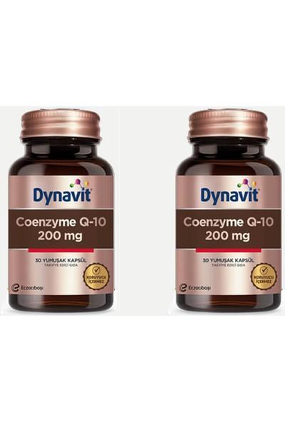 Eczacıbaşı Dynavit Koenzim Q10 200 Mg 30 Kapsül 2'li Paket