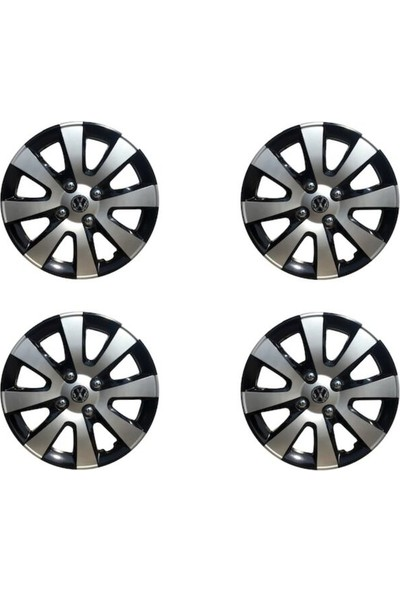 Avsaroto Volkswagen Caddy 15'' Inç Çelik Jant Görünümlü 4'lü Set Jant Kapağı