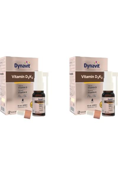 Eczacıbaşı Dynavit Vitamin D3K2 10 ml Sprey 2'li Paket