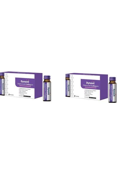 Eczacıbaşı Dynavit Diamond Collagen - Takviye Edici Gıda 10 Şişe / 50 ml 2'li Paket