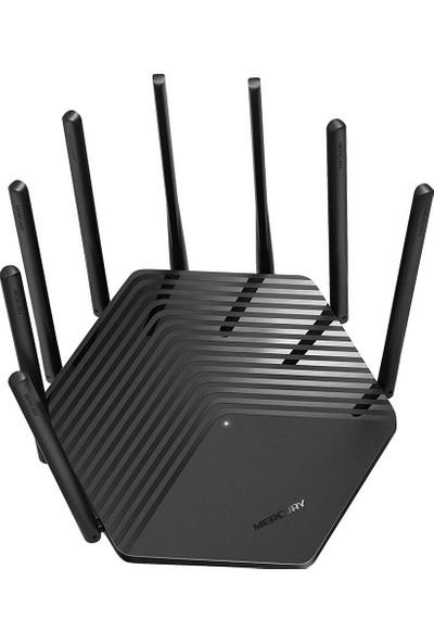 Mercury AC2600M Gigabit Router Kablosuz Ev Çift Çekirdekli Yönlendirici 5G Dual Band Fiber Geniş Bant 8 Anten D26GB (Yurt Dışından)