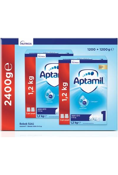 Aptamil 1 1200 gr Mega Size 2'li Paket Bebek Sütü 0-6 Ay