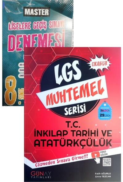 Günay Yayınları 8. Sınıf Muhtemel Serisi Inkılap Tarihi Yeni (Okyanus Denemeli)