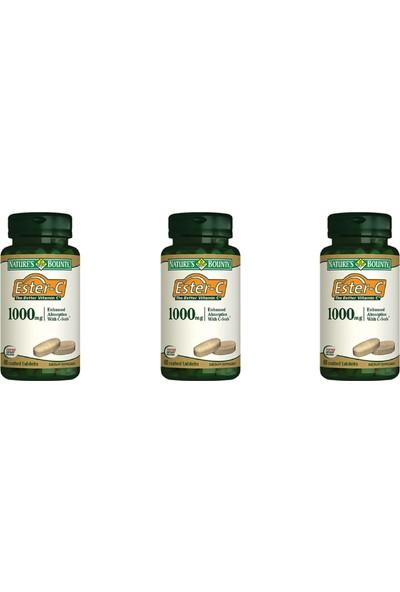 Nature's Bounty Ester C 1000 Mg 60 Tablet 3'lü Paket
