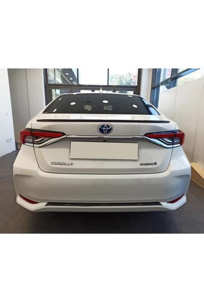 Snt Toyota Corolla Arka Tampon Alt Karbon Çıta 2019+