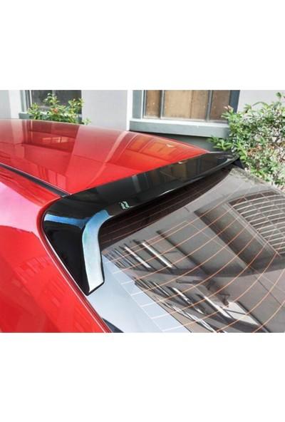Snt Toyota Corolla Cam Üstü Spoiler Piano Black 2019+