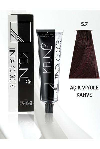 Keune Tinta Color Saç Boyası No: 5.7 - Açık Viyole Kahve 60 ml