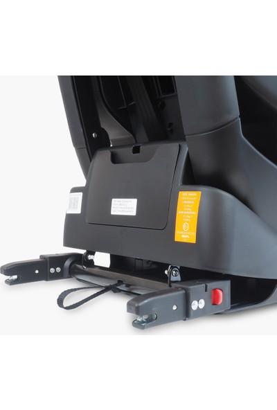 Kraft Techno Fix İsofixli Oto Koltuğu 9-36 kg - Gri Deri