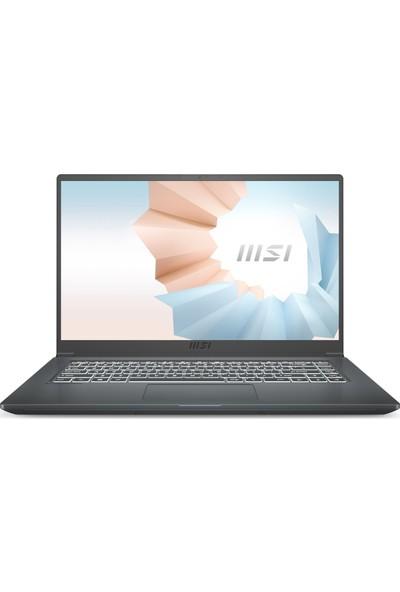 "MSI Modern 15 A10M-614XTR Intel Core i5 10210U 8GB 256GB SSD Freedos 15.6"" FHD Taşınabilir Bilgisayar"