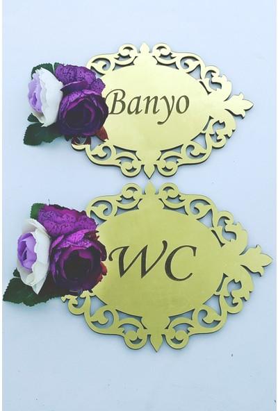 Syz Pleksi Banyo & Wc Kapı Süsü