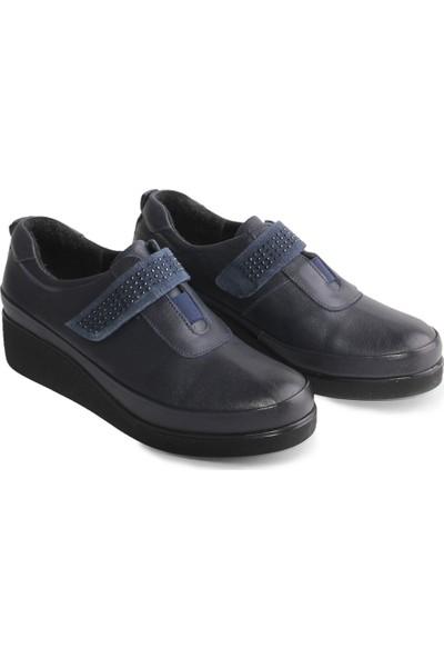 DERİCLUB-026 Deri Kadın Ayakkabı