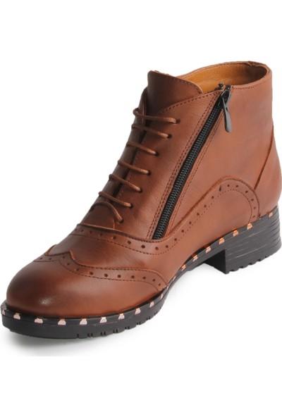 Dericlub Jenifer Gerçek Deri Kadın Ayakkabı