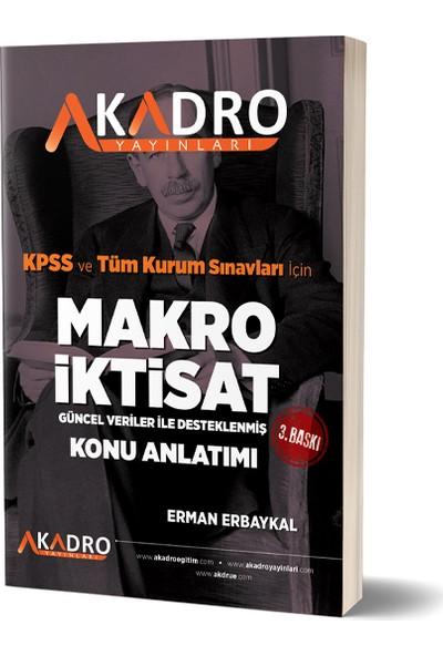 A Kadro Yayınları Makro Iktisat 3. Baskı - Erman Erbaykal