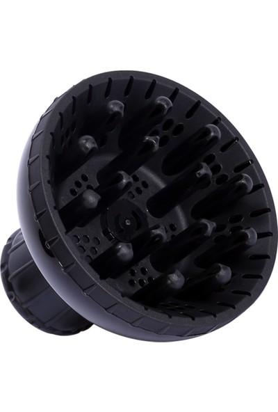 Fön Makinesi İçin Vigo Başlık - Konik - Yaylı-Profesyonel Kuaför Fönlerine Uygun