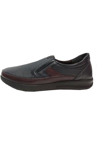 Birkan 434 Hakiki Deri Ortopedık Erkek Ayakkabı
