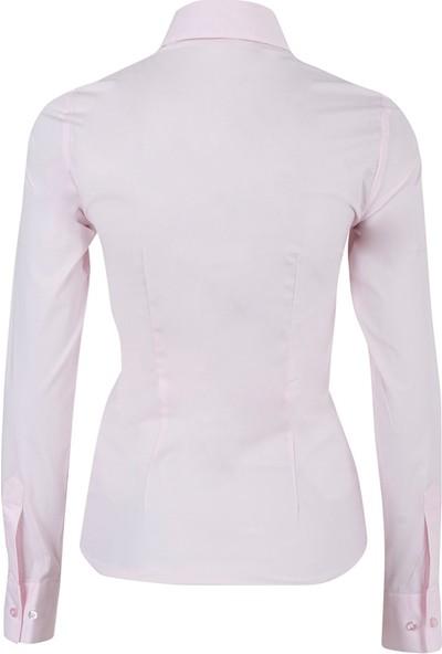 Erten 4170 Kadın Gömlek Pembe