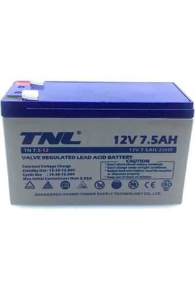 Tnl 12V 7.5AH Kuru Tip Akü