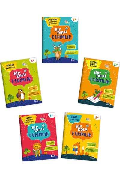 Floki Çocuk 5 Yaş Bir Dolu Etkinlik Seti 5 Kitap