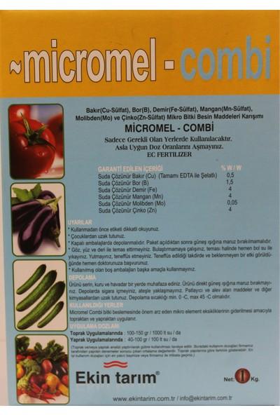 Ekin Tarım Gübre Combi Micromel - Combi 1kg Mikro Element